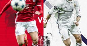 ريال مدريد والباييرن: مباراة الإمتاع والمؤانسة