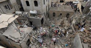 """السعودية ترسل من السماء """"هدايا"""" لعرس يمني.. والحصيلة عشرات القتلى والجرحى"""