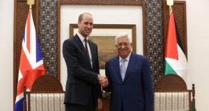 ولي العهد البريطاني الأمير وليام يغضب الإسرائيليين ويصف فلسطين بالدولة الصديقة