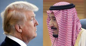 ترامب يأمر الملك سلمان بزيادة إنتاج النفط
