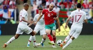 أمرابط قد لا يشارك في المباراة ضد إسبانيا
