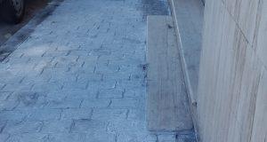 خروقات هندسية خطيرة في تزفيت شارع مولاي رشيد بطنجة
