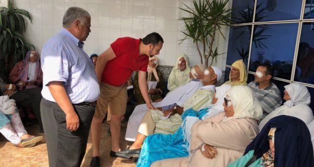 الفحص أنجرة: حملة طبية مجانية لفائدة المعوزين تعيد لهم الأمل في البصر