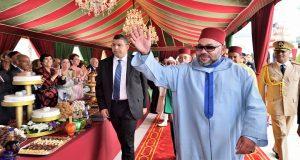 الملك يترأس حفل استقبال بطنجة بمناسبة عيد العرش