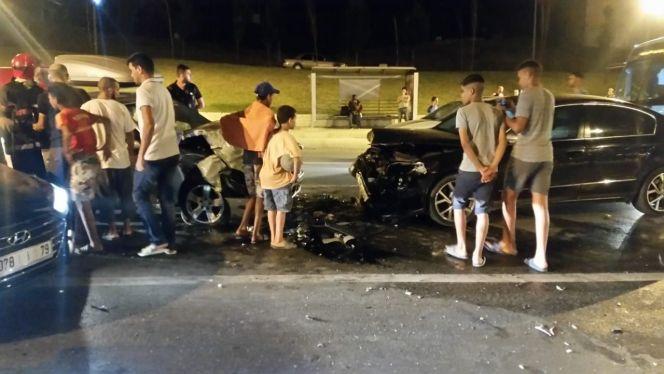 سيارة مرقمة بهولندا تتسبب بحادثة مفجعة بطنجة.. وحصيلة الضحايا ترتفع