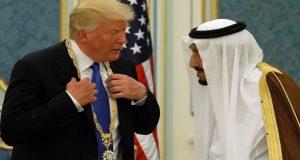ترامب يعترف بإهانته للملك السعودي سلمان بن عبد العزيز