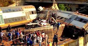 الحادث المفجع لقطار القنيطرة- الرباط