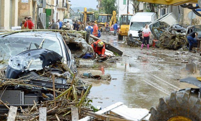 ارتفاع عدد ضحايا فيضانات مايوركا الإسبانية