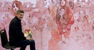 وفاة الفنان التشكيلي الطنجاوي عبد الباسط بن دحمان