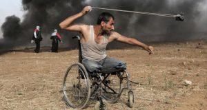 صورة ترمز للصمود الفلسطيني تفوز بجائزة دولية