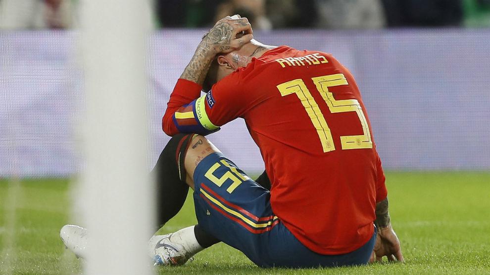 إنجلترا تُنزل إسبانيا من فوق السحاب
