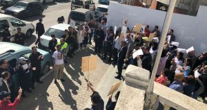 """سكان طنجة يهتفون: حرّرونا من الاحتلال """"السوماجيكي""""..!  (صور)"""