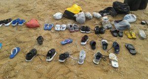 قارب الهجرة السرية في تزنيت كان يحمل 22 شخصا: لم تبق منهم سوى الأحذية..!