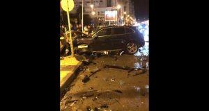 حادثة سير خطيرة بكورنيش طنجة