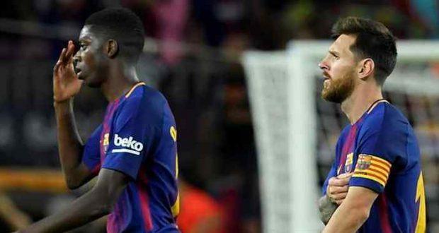 بعد فشل تجربته في برشلونة: عثمان ديمبيلي مطلوب في ليفربول
