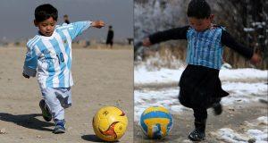 قميص ميسي لا يسمن ولا يغني من جوع: الطفل الأفغاني يعاني ويلات الحرب في كابول.. !