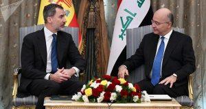 بسبب علم عراق صدام: إسبانيا تعتذر للعراق.. !