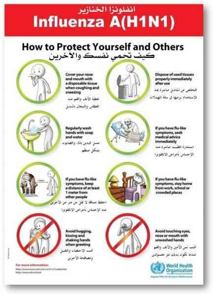 كيف تحمي نفسك من أنفلونزا الخنازير..؟