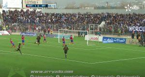 """اتحاد طنجة يضيع فوزه الخامس على التوالي أمام المغرب التطواني """"التائه"""""""
