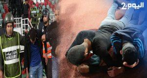 أعمال شغب خطيرة في الرباط لأنصار الرجاء + فيديو