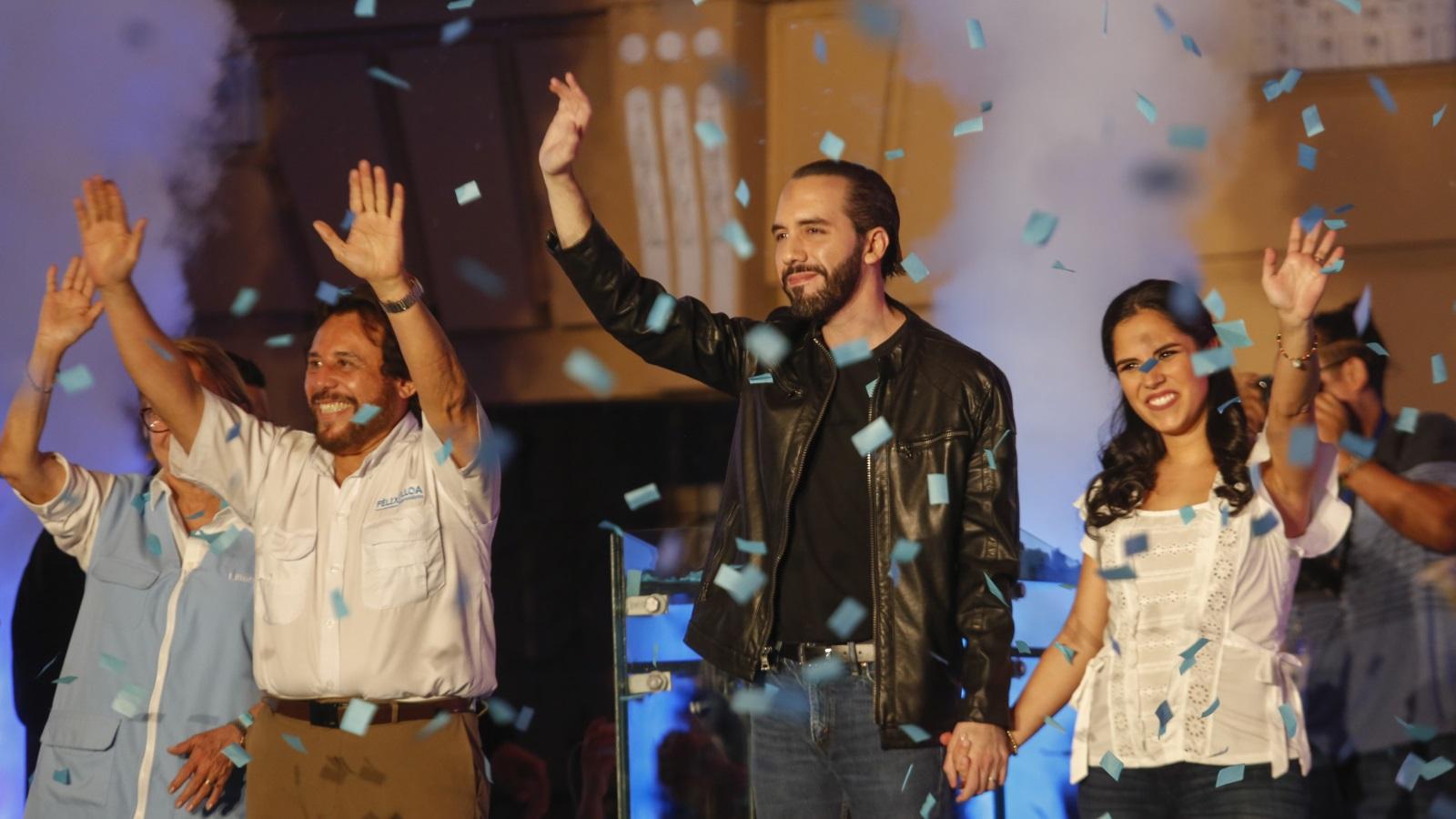شاب من أصل فلسطيني يفوز برئاسة السلفادور