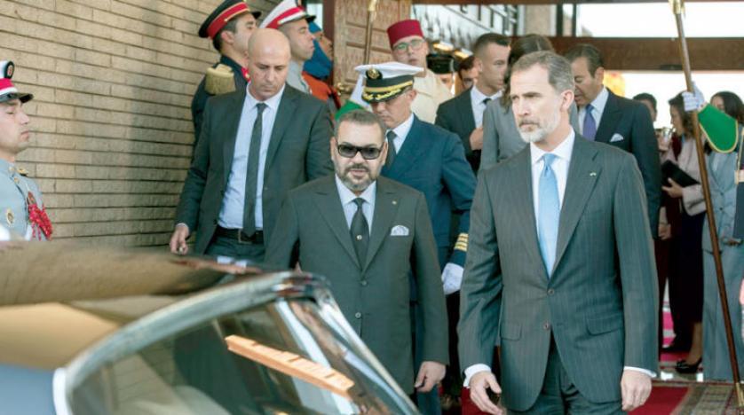 توقيع اتفاقيات اقتصادية خلال زيارة ملك إسبانيا للمغرب