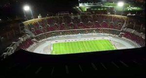 فضيحة: مذيع القناة المغربية الأولى يتساءل لماذا لم يتم لعب المباراة في مراكش.. !