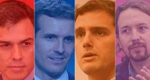 اليمين واليسار في إسبانيا سيتعادلان في انتخابات أبريل المقبل