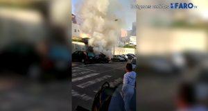 """""""انفجار"""" سيارة بسبتة"""