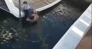 شاب مغربي ينقذ إسبانية من الغرق