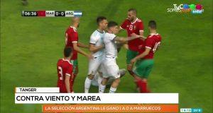 رياح معركة المغرب والأرجنتين