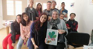 """مركز """"أجيال"""" ينظم معرضا تربويا للتلميذة الفنانة ابتسام بن داوود"""