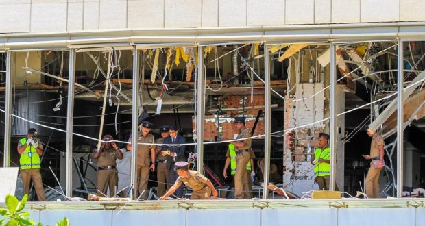 حظر تجول في سريلانكا بعد سلسلة تفجيرات دامية