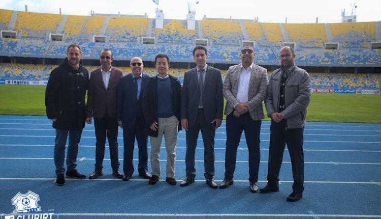 رئيس فريق اتحاد طنجة يغيب عن استقبال وفد إسبانيول برشلونة