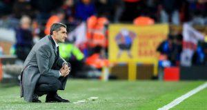 بدء إجراءات إقالة فالفيردي من برشلونة