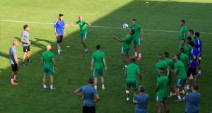 """المنتخب المغربي يستعد لأولى مباريات في """"كان"""" مصر"""