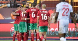 بوحدوز ناميبي يهدي المنتخب المغربي فوزا صعبا في آخر الأنفاس
