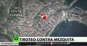 إطلاق النار على مسجد بسبتة