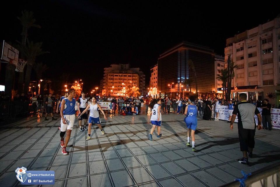 دوري كرة السلة  3×3 المنظم  في إطار برنامج ولاد الحومة يوقع على نجاح كبير