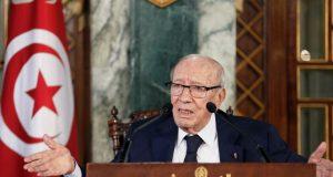 وفاة الرئيس التونسي عن 92 سنة