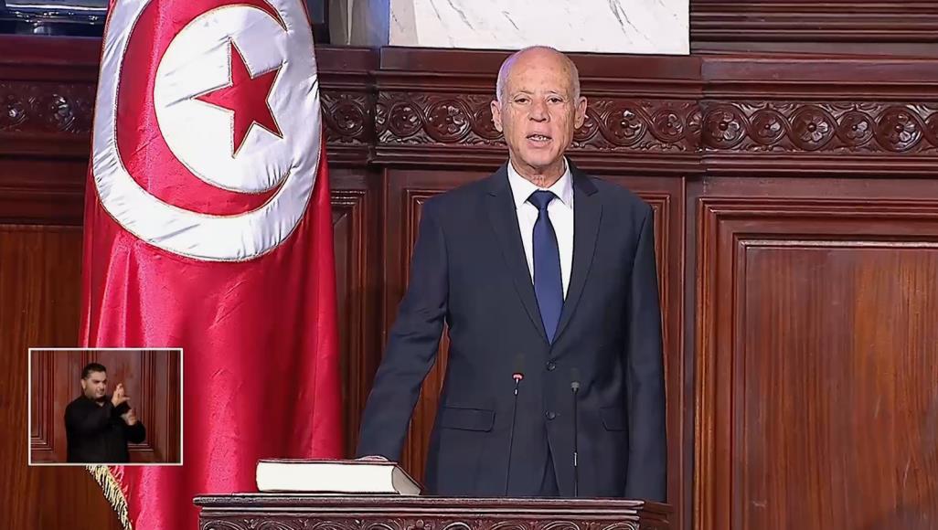 الرئيس التونسي الجديد يؤدي اليمين