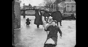 شتاء هولندا سنة 1917