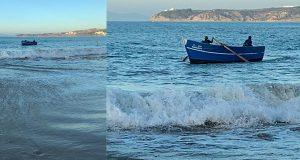 تدمير خطير للبيئة البحرية في شاطئ طنجة.. والسلطات تتفرج