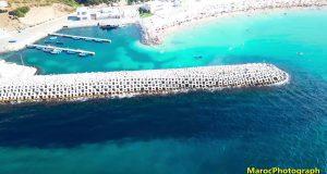شاطئ الدالية من عل
