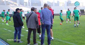 استياء مدرب المنتخب من ملعب طنجة