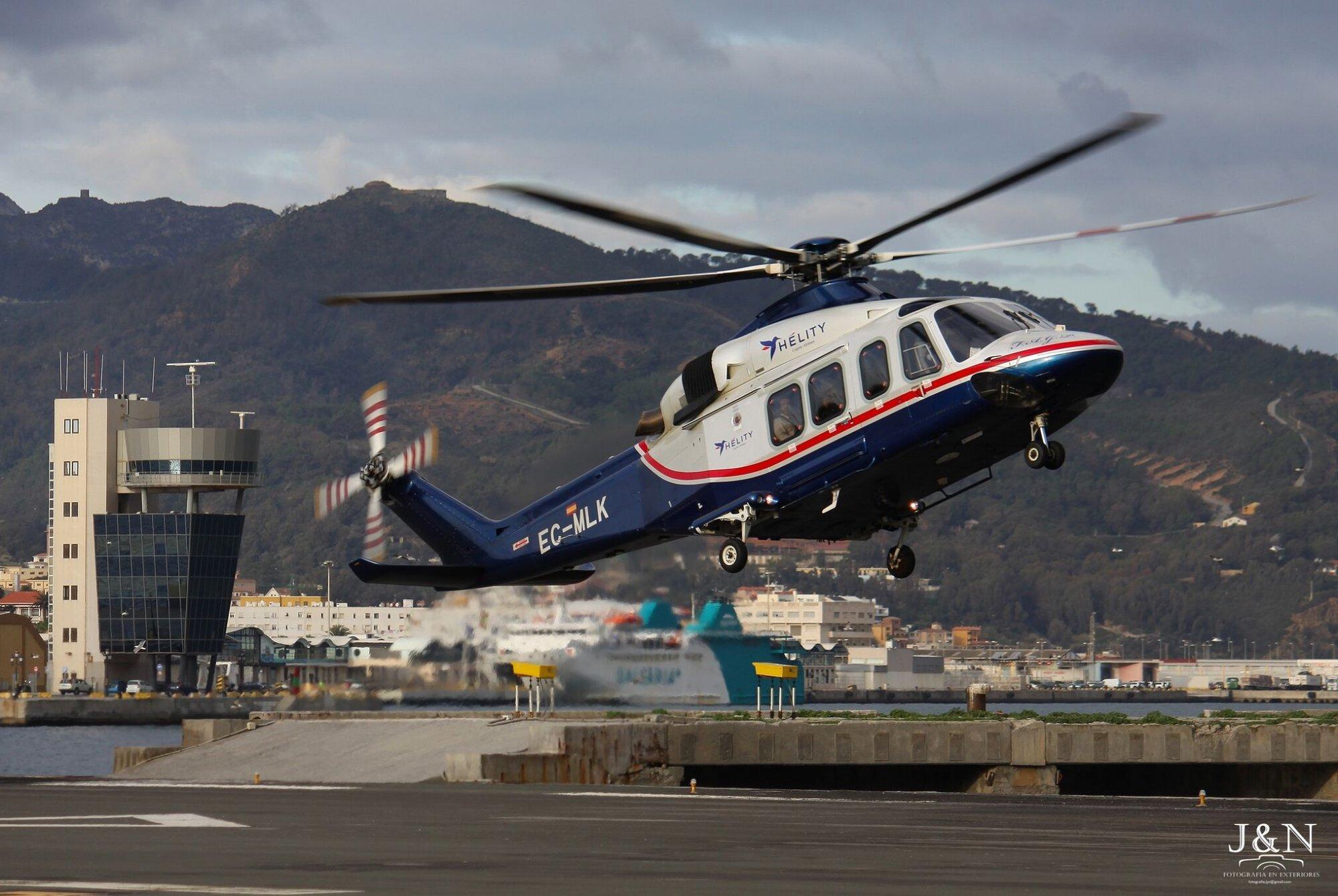 الخط المروحي بين طنجة وإسبانيا مهدد بالوأد في المهد