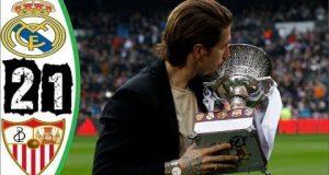 ملخص ريال مدريد وإشبيلية