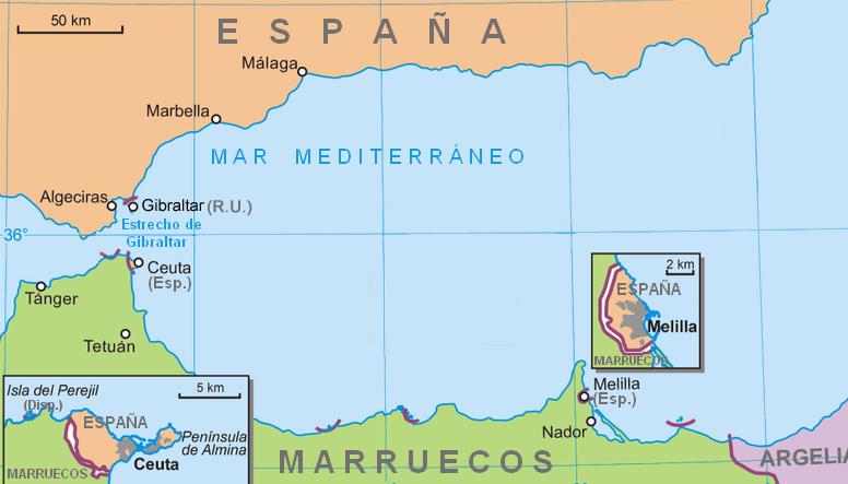 بين المغرب وإسبانيا.. حدود ومنافسة وتهريب