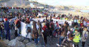 مظاهرة سبتة حول الكرامة