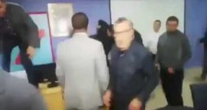 انتخابات وملاكمة في جماعة المضيق + فيديو